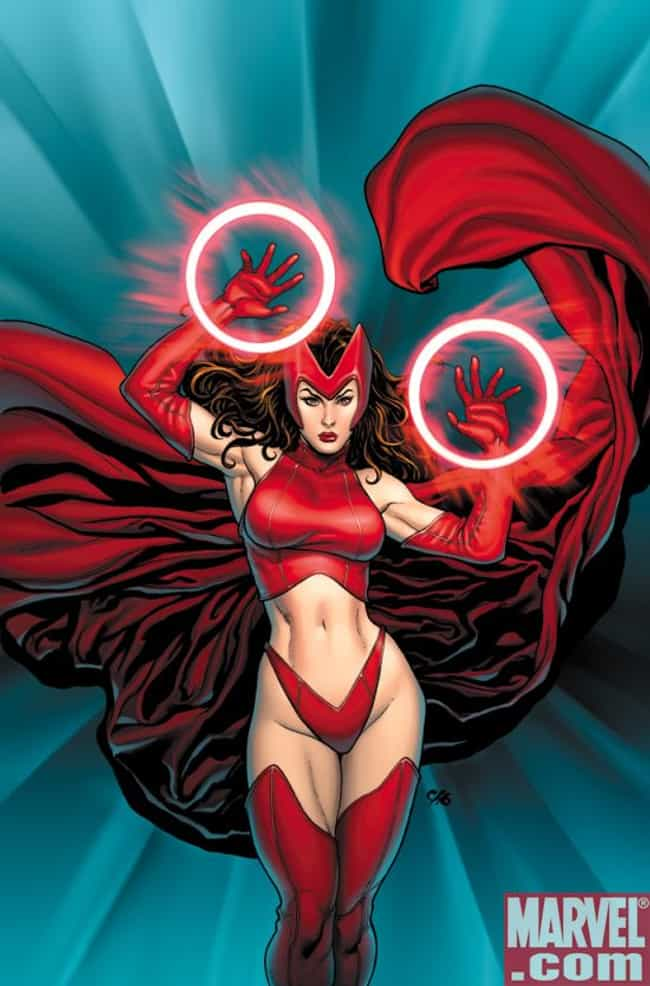 The Most Stunning Scarlet Witch Pictures Ranked By Fans
