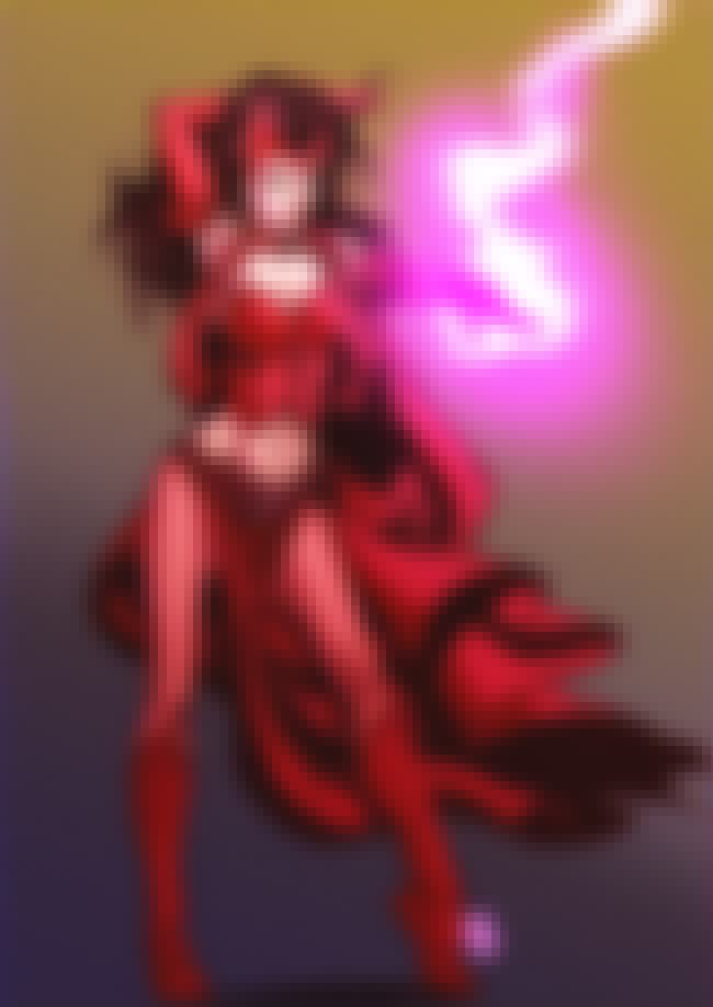Scarlet Witch in Strapless Cor... is listed (or ranked) 2 on the list Sexy Scarlet Witch Pictures