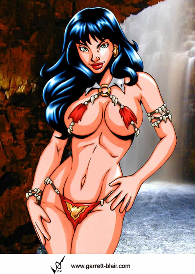 Vampirella in Exotic Out... is listed (or ranked) 3 on the list The Most Beautiful Vampirella Pictures