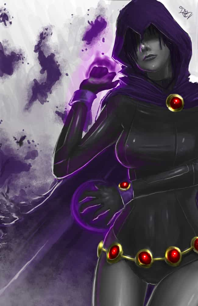Raven in Black Suit and ... is listed (or ranked) 4 on the list The Most Ravishing Raven Pictures