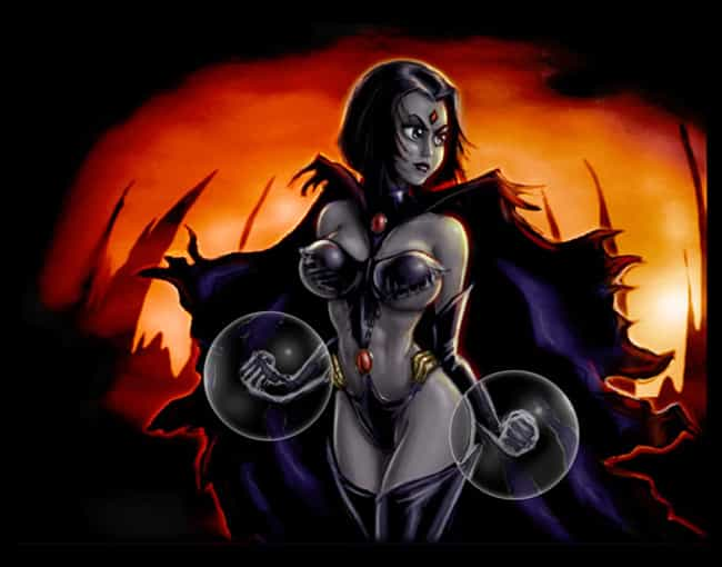 Raven in Black Cape is listed (or ranked) 2 on the list The Most Ravishing Raven Pictures