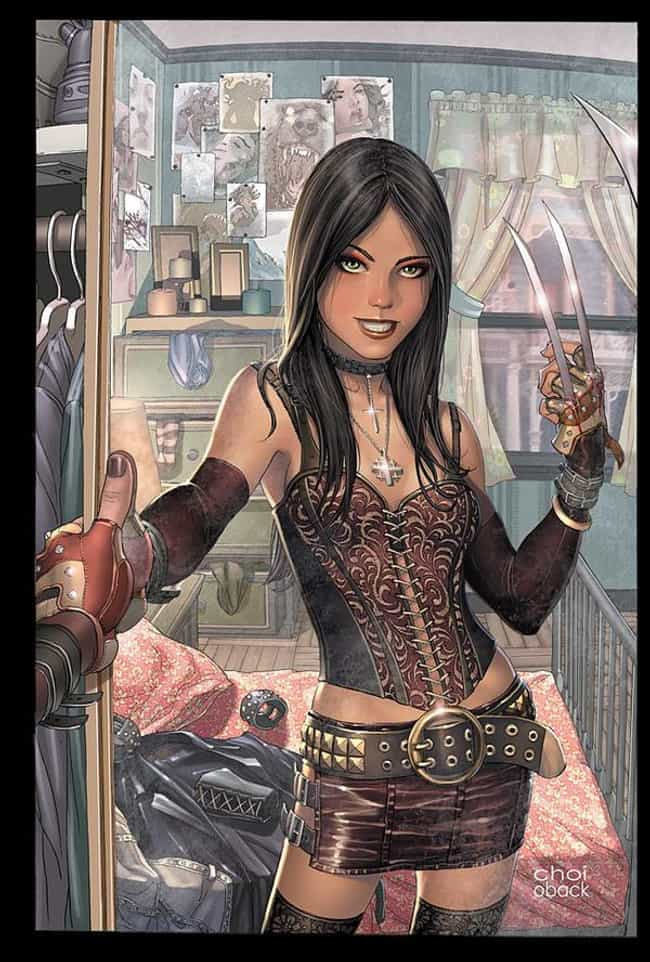 X-23 in Red Top and Skir... is listed (or ranked) 3 on the list Sexy X-23 Pictures