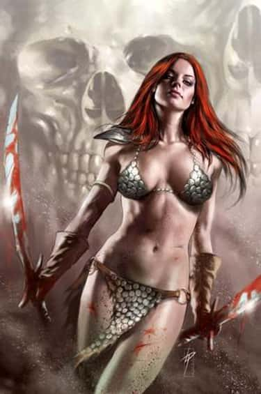 Red Sonja in Bikini-Like Scale is listed (or ranked) 2 on the list Sexy Red Sonja Pictures