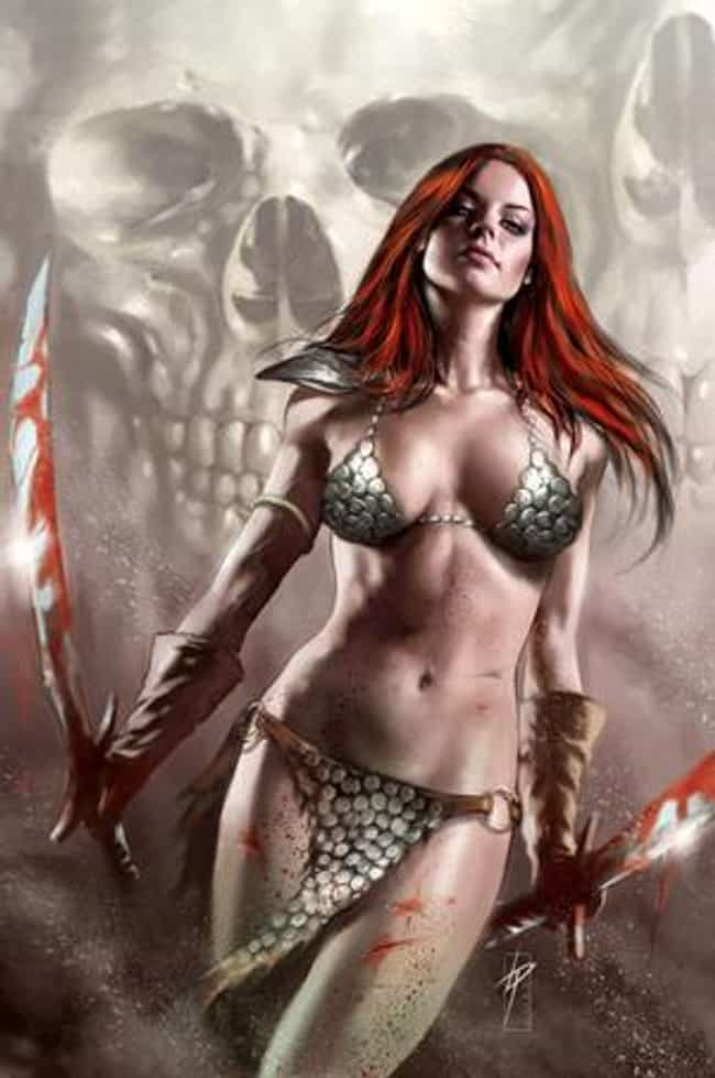 Red Sonja in Bikini-Like Scale... is listed (or ranked) 2 on the list Sexy Red Sonja Pictures