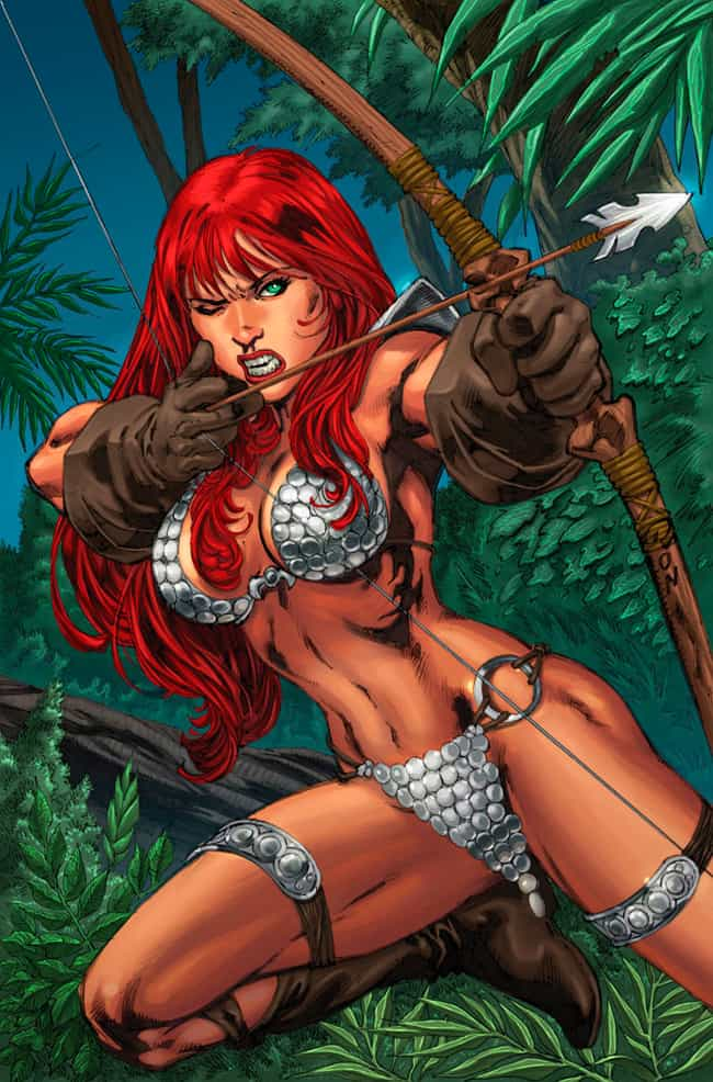 Red Sonja with Bow and Arrow is listed (or ranked) 3 on the list Sexy Red Sonja Pictures