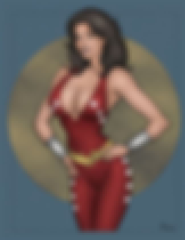 Donna Troy in Red Tight Suit D... is listed (or ranked) 2 on the list Sexy Donna Troy Pictures