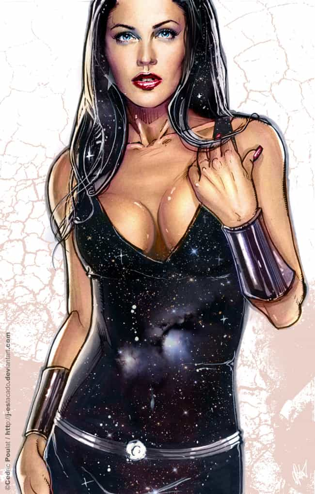 Donna Troy in Tight Leather Su... is listed (or ranked) 1 on the list Sexy Donna Troy Pictures