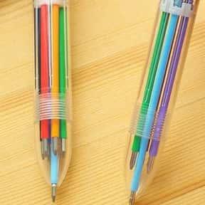 Multi-Colored Push-Up Pens