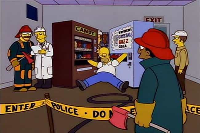 The Vending Machines is listed (or ranked) 4 on the list The Best Simpsons Gags