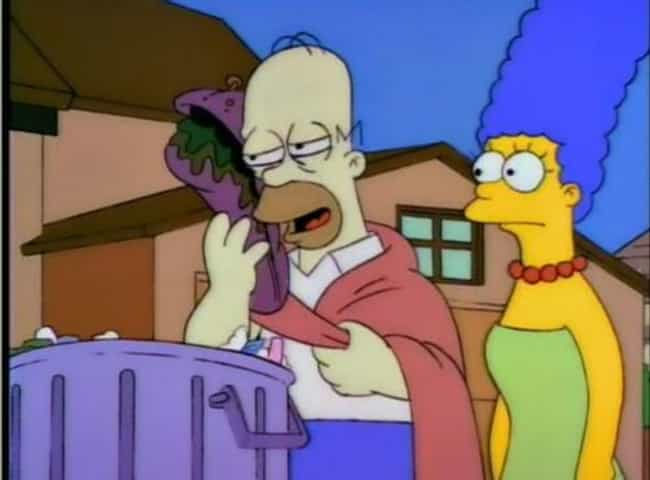 The Big Sandwich is listed (or ranked) 3 on the list The Best Simpsons Gags