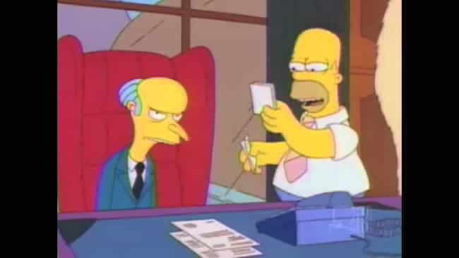Is it about my cube? is listed (or ranked) 2 on the list The Best Simpsons Gags