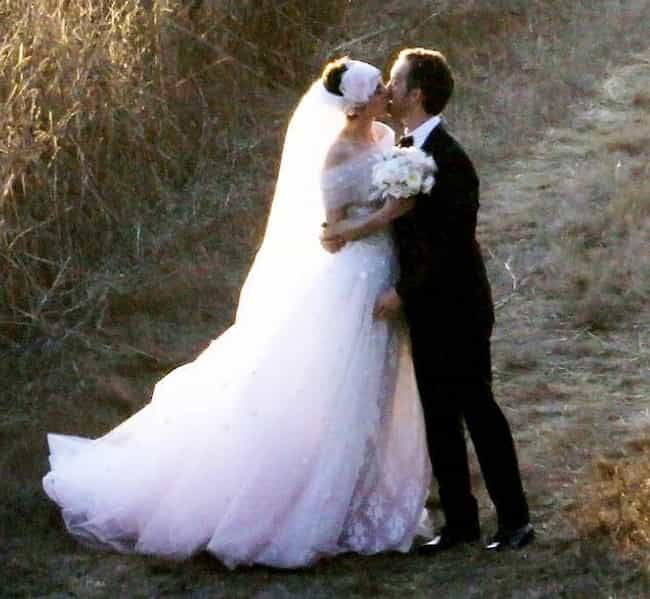 Anne Hathaway and Adam Shulman is listed (or ranked) 4 on the list Celebrity Weddings: 2012 Famous Marriages List