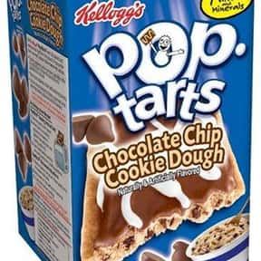 Chocolate Chip Cookie Dough Po is listed (or ranked) 13 on the list The Very Best Pop-Tart Flavors