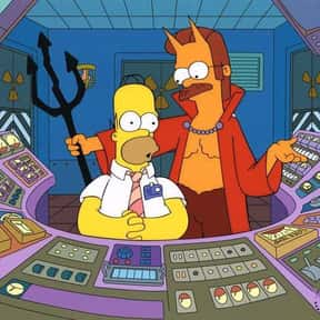 The Devil and Homer Simpson is listed (or ranked) 3 on the list The Best Of The Treehouse Of Horror