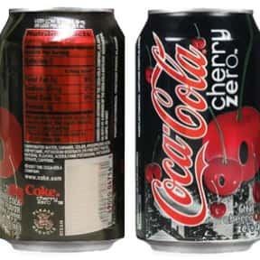 Coca-Cola Cherry Zero is listed (or ranked) 6 on the list The Best Diet Sodas