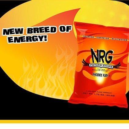 NRG Potato Chips on Random Best Caffeinated Snacks