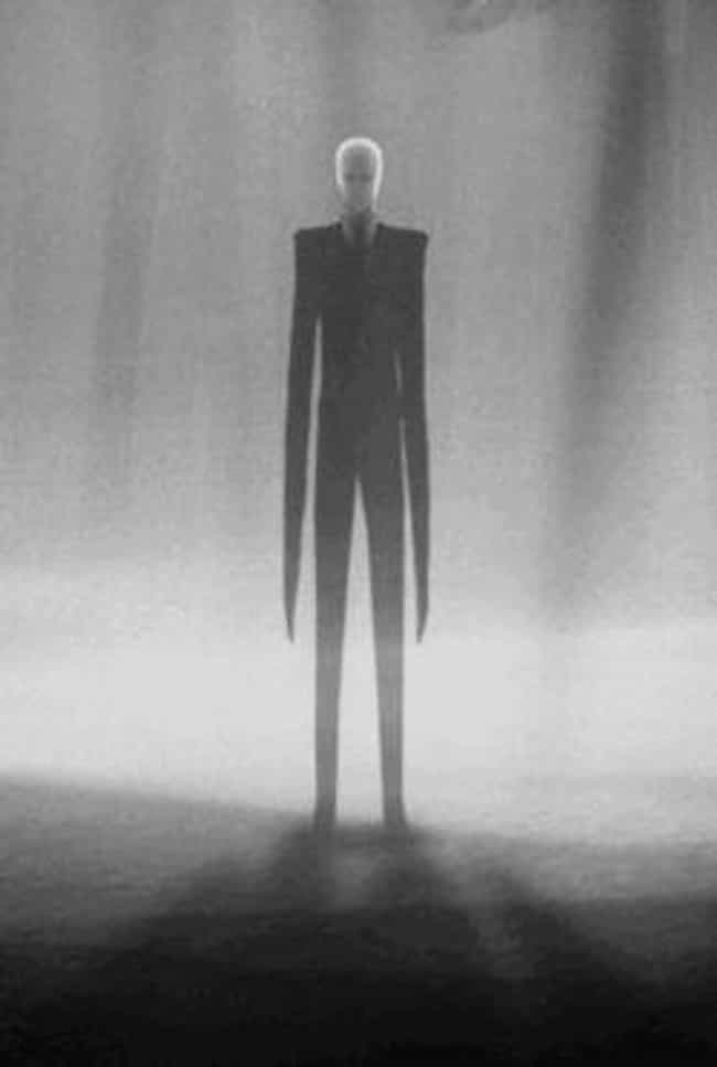 Slender Man is listed (or ranked) 1 on the list The 13 Scariest Internet Memes of All Time