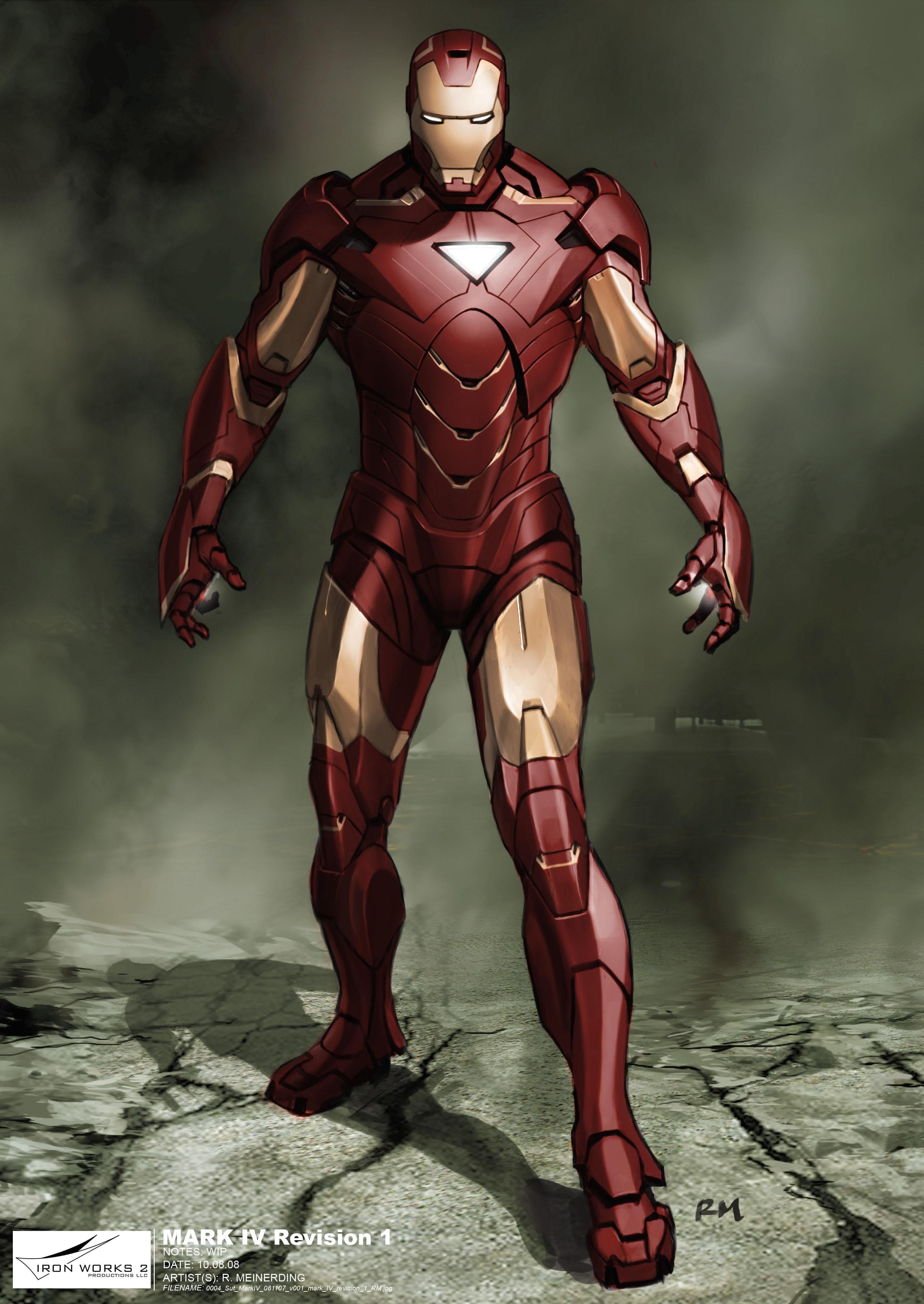 MK VI on Random Greatest Iron Man Armor