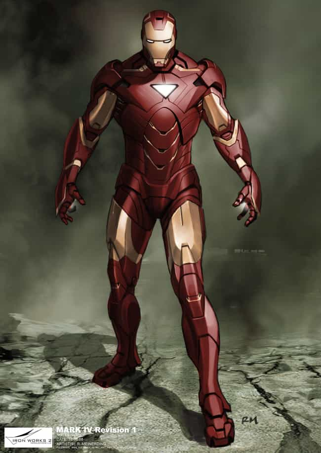 MK VI is listed (or ranked) 4 on the list The Greatest Iron Man Armor of All Time