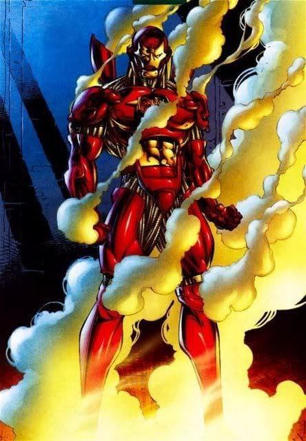 Prometheus Armor on Random Greatest Iron Man Armor