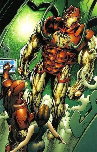 Thorbuster on Random Greatest Iron Man Armor