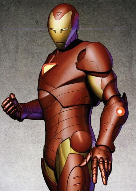 Model 30 on Random Greatest Iron Man Armor