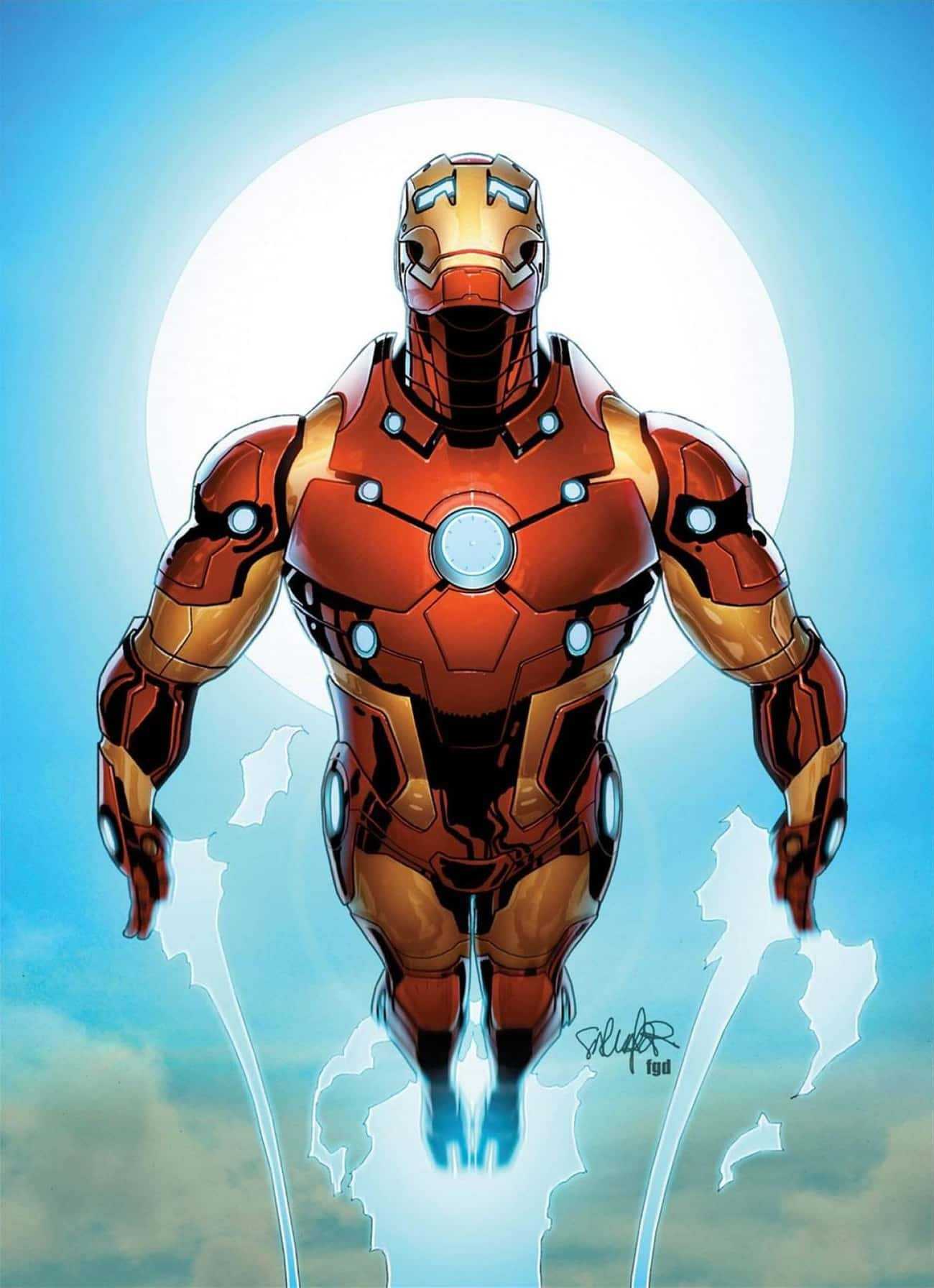 Bleeding Edge Armor is listed (or ranked) 2 on the list The Greatest Iron Man Armor of All Time