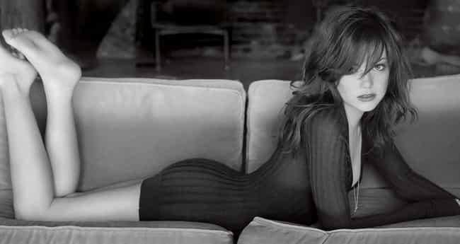 Emma Stone on the Couch is listed (or ranked) 1 on the list The Hottest Pictures of Emma Stone