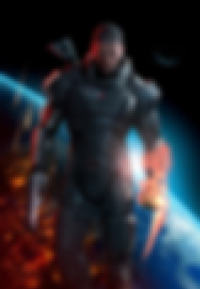 Commander Shepard is listed (or ranked) 2 on the list The Best Male Video Game Characters of 2012
