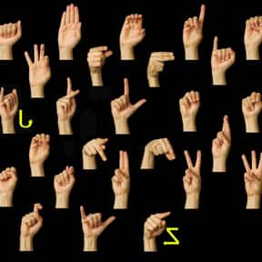 American Sign Language is listed (or ranked) 10 on the list The Best Language to Learn