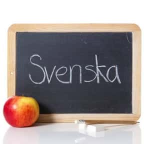 Swedish Language is listed (or ranked) 20 on the list The Best Language to Learn