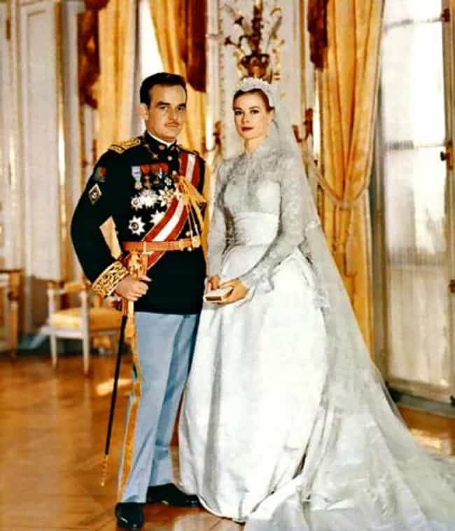 Grace Kelly and Prince Rainier... is listed (or ranked) 2 on the list The Top 10 Most Famous Celebrity Weddings