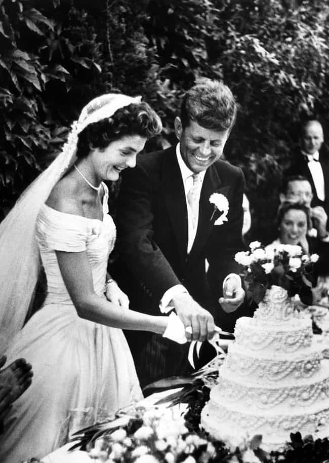 Jackie Kennedy and John F. Ken... is listed (or ranked) 4 on the list The Top 10 Most Famous Celebrity Weddings
