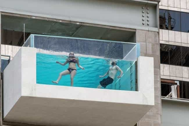 The Joule Hotel Pool - The Jou... is listed (or ranked) 2 on the list The Most Terrifying Water Attractions In The World