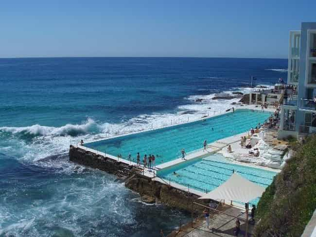 Bondi Baths - Bondi Icebergs C... is listed (or ranked) 1 on the list The Most Terrifying Water Attractions In The World
