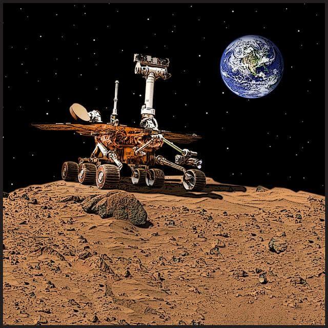 The Mars Rover on Random Greatest Robots