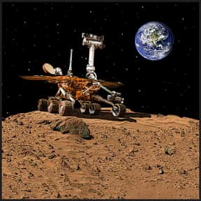 The Mars Rover is listed (or ranked) 25 on the list The Greatest Robots of All Time