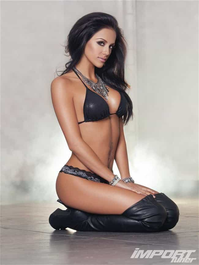 Melissa Riso is listed (or ranked) 1 on the list HOT HOT Import Models