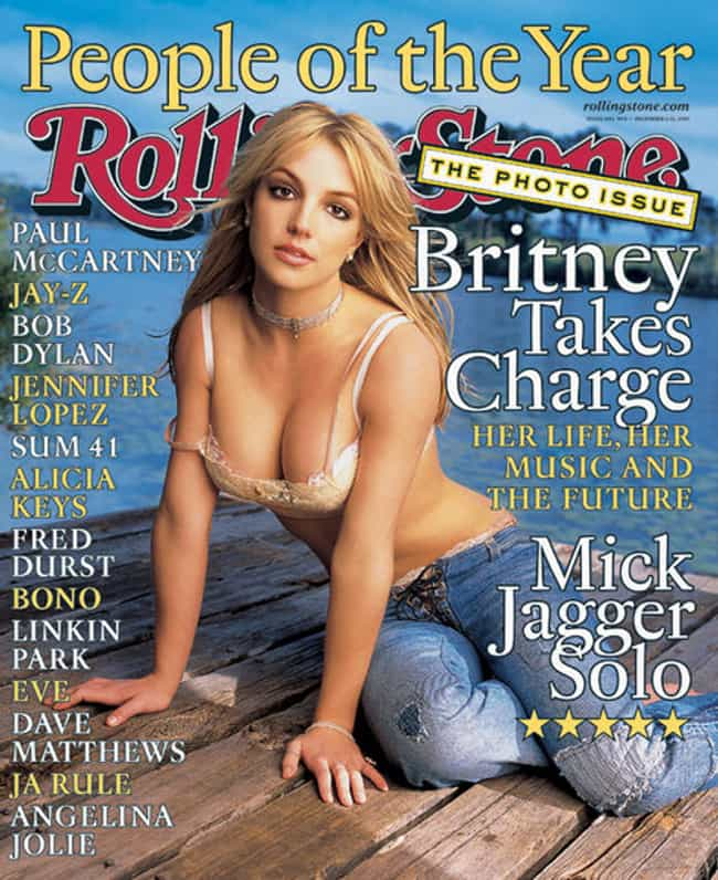 Britney Spears's Cleavage Reac... is listed (or ranked) 3 on the