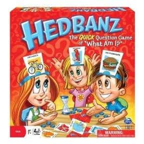 Hedbanz is listed (or ranked) 22 on the list The Best Family Board Games