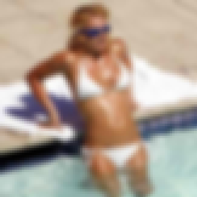 Britney Spears in White Triang... is listed (or ranked) 6 on the list Britney Spears Bikini Pictures