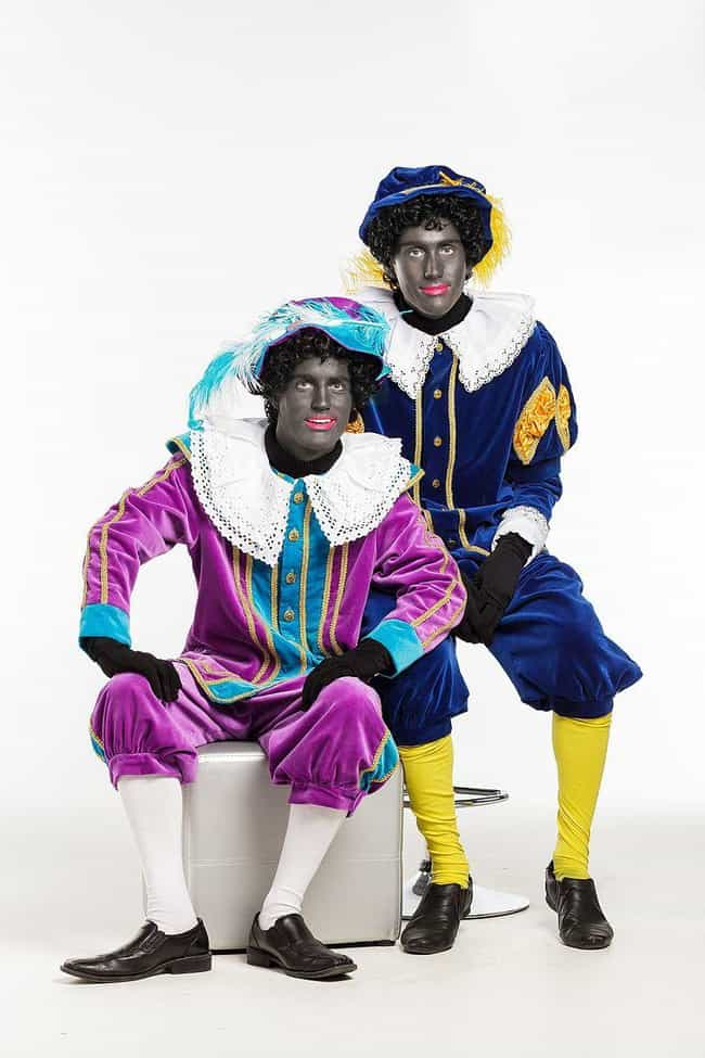 Zwarte Piet is listed (or ranked) 4 on the list Terrifying Traditional Christmas Legends