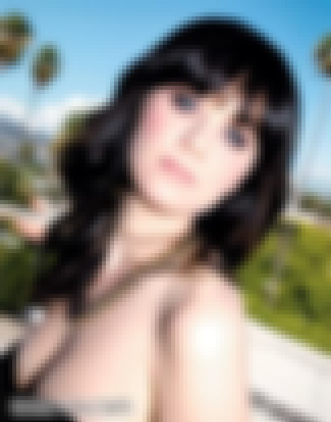 Zooey Deschanel in Strapless S... is listed (or ranked) 1 on the list Zooey Deschanel Bikini Pictures