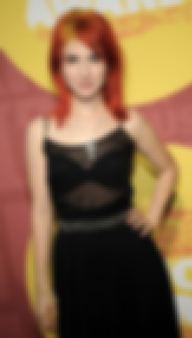 Another Girl Wearing a See-Thr... is listed (or ranked) 3 on the list The 26 Sexiest Pics of Paramore's Hayley Williams
