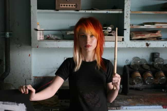 This Is How Hayley Willi... is listed (or ranked) 4 on the list The 24 Sexiest Hayley Williams Pics