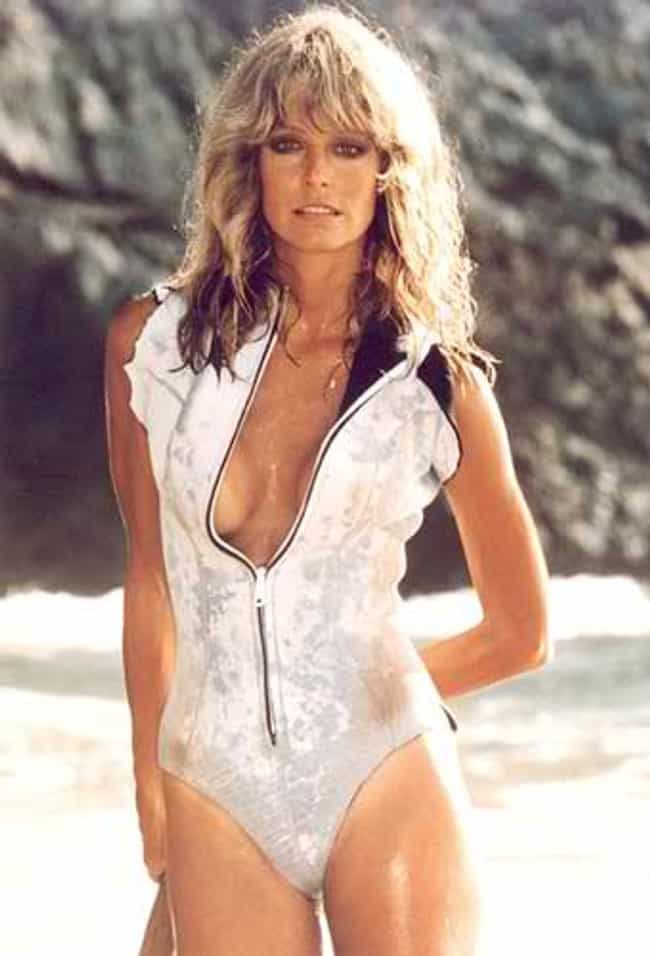 Farrah Fawcett in Front ... is listed (or ranked) 1 on the list The Most Beautiful Farrah Fawcett Photos