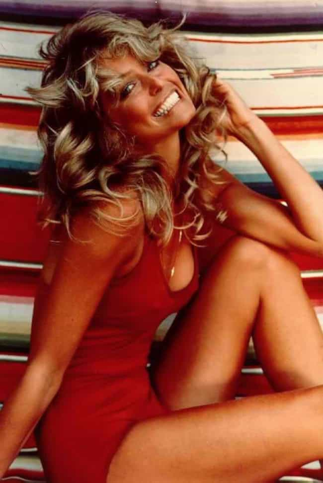 Farrah Fawcett in Red Bi... is listed (or ranked) 2 on the list The Most Beautiful Farrah Fawcett Photos