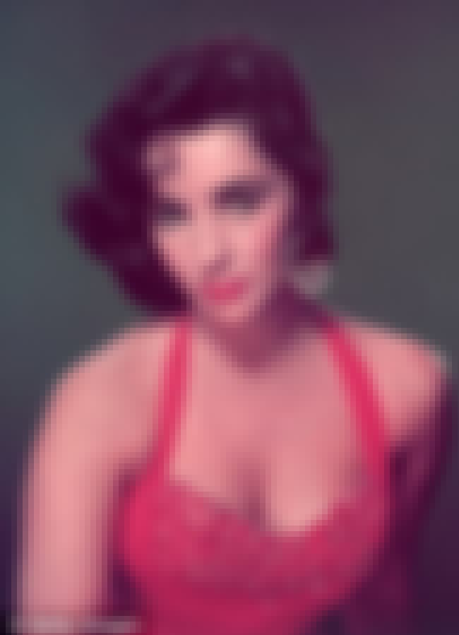 Elizabeth Taylor in Red Embell... is listed (or ranked) 1 on the list Hottest Elizabeth Taylor Photos