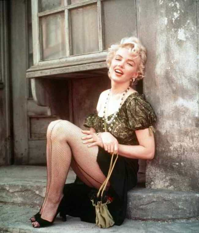 Marilyn Monroe Caught in... is listed (or ranked) 7 on the list The Best Photos OfMarilyn Monroe