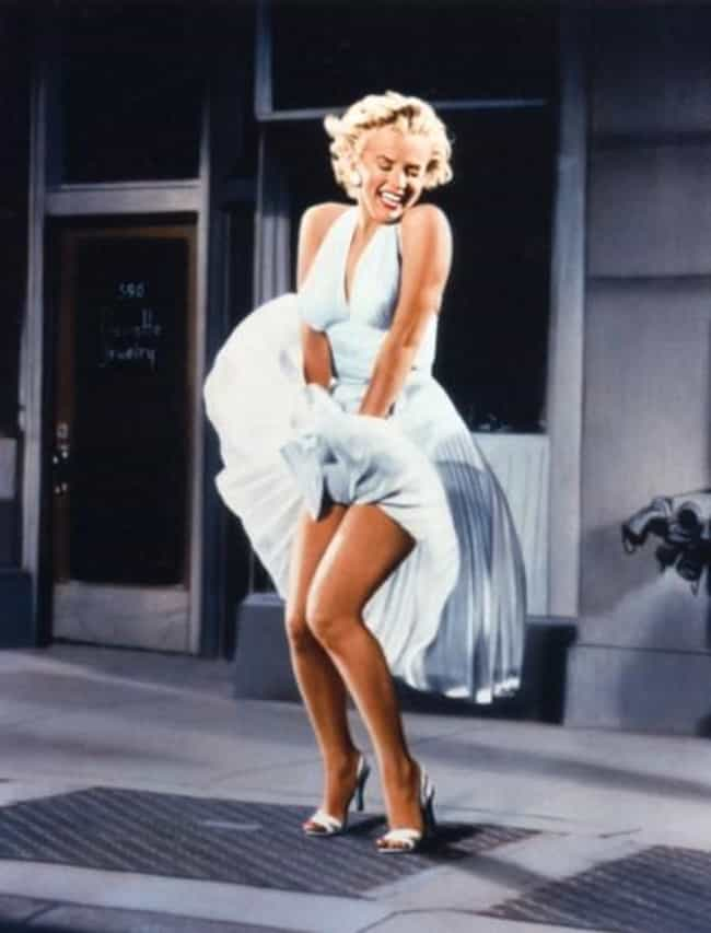 Wind Makes Marilyn Monro... is listed (or ranked) 4 on the list The Best Photos Of Marilyn Monroe